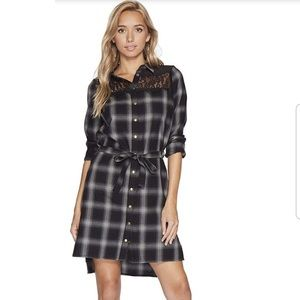 Anthropologie Bishop+young Plaid dress NWT S